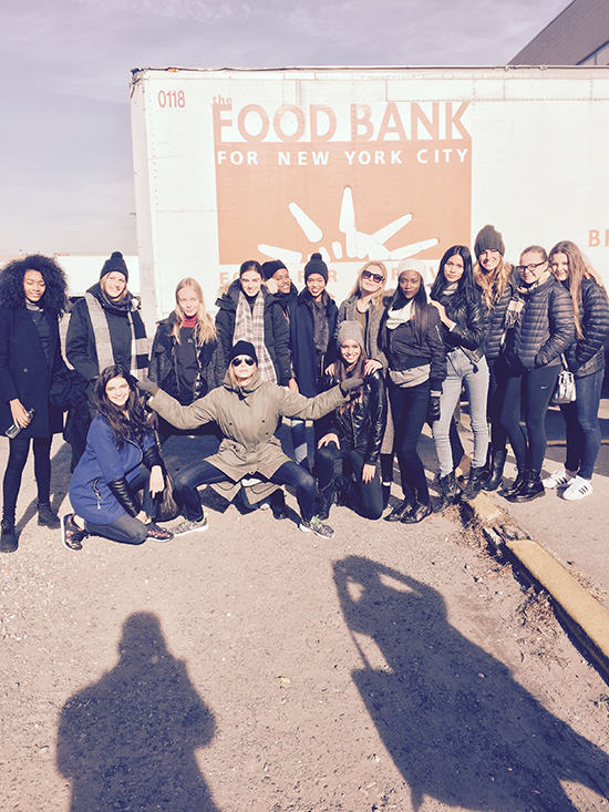 Helping at Food Bank 4 NYC