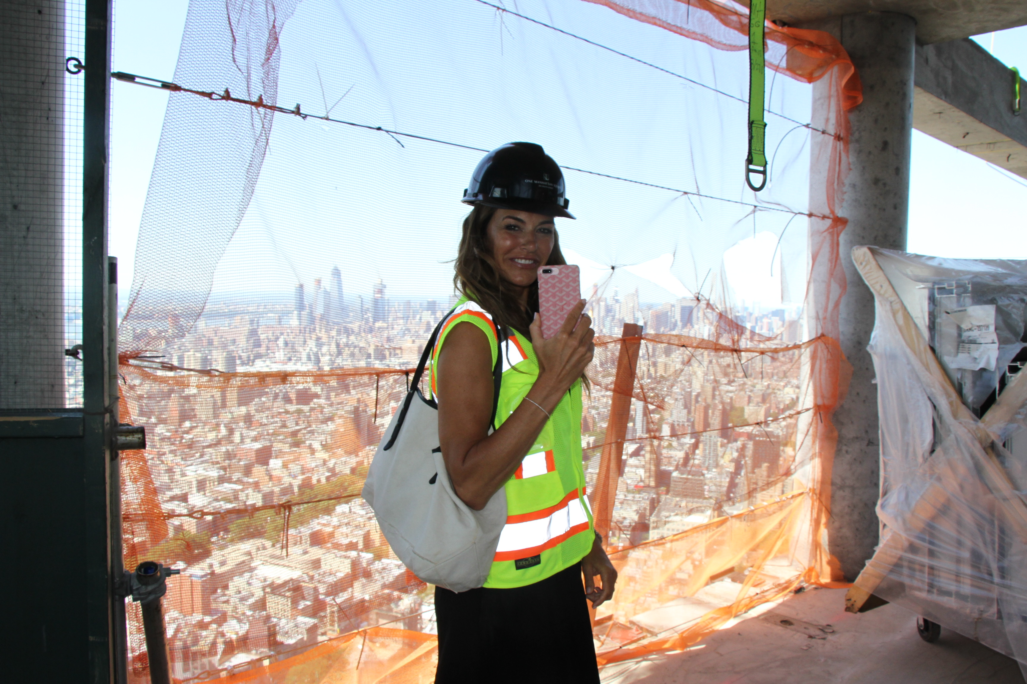 Today I Took the Hoist To A Penthouse in the Lower East Sky